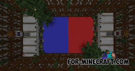 Turf Wars map for Minecraft PE 1.5