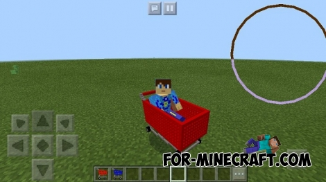 Fortnite Shopping Carts addon for MCPE 1.2/1.6+