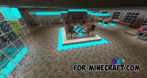 Space Colony map for Minecraft PE 1.5/1.6+