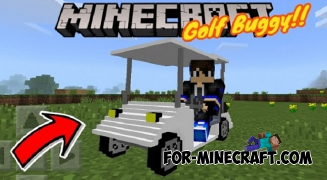 Golf Cart addon for MCPE 1.X
