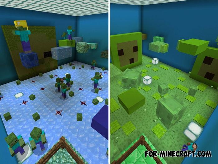 скачать карту для minecraft pe 1.1 5 паркур