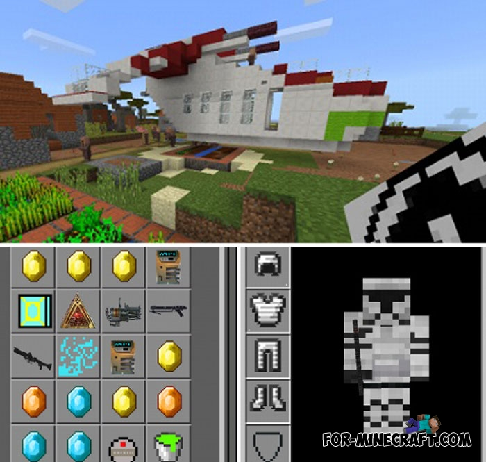 minecraft star wars mod download 1.8