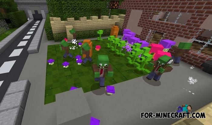 minecraft plants vs zombies videos