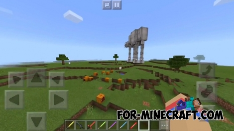 Star Wars The Clone Wars mod for MCPE 1.6