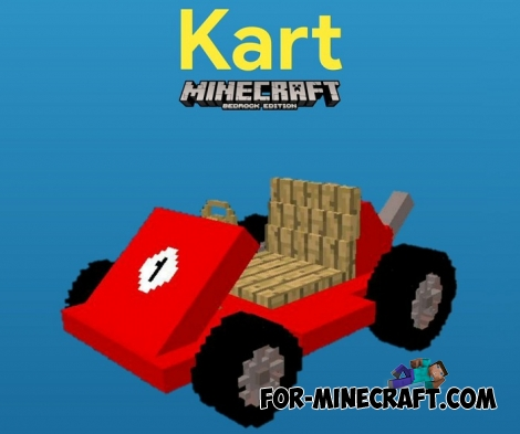 Mario Kart addon for Minecraft Bedrock Edition 1.5/1.6
