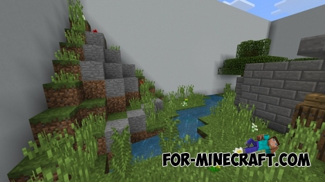 Just Hide and Seek map for MCPE 1.7+
