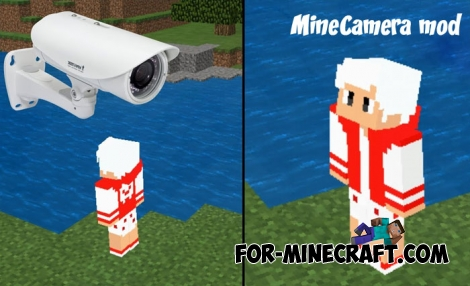 MineCamera mod for Minecraft PE 1.4/1.5 (1.7 soon)