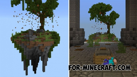 Dodge the Poop map for Minecraft PE 1.6/1.7