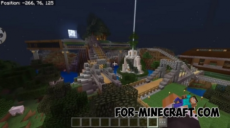 Kerodiamond map for MCBE 1.7+