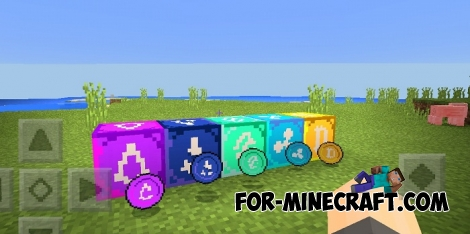 Cryptocurrency mod v1.0 for Minecraft PE