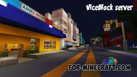 ViceBlock server for Minecraft PE