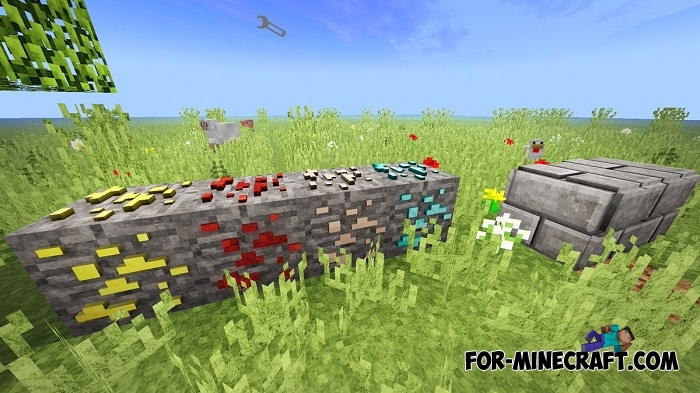 3D Blocks mod for Minecraft PE 1 2/1 6