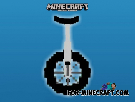 Monocycle addon for MCPE 1.5/1.6/1.7+