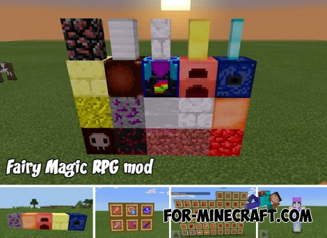 Fairy Magic RPG mod for Minecraft Bedrock