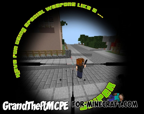 GrandTheftMCPE server for  Minecraft PE 1.6