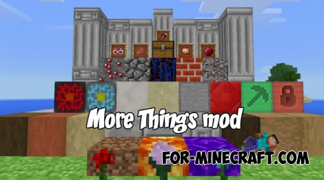 More Things mod v1.0 for Minecraft BE
