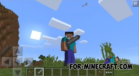Mo' Bends mod for Minecraft PE 1.5/1.6