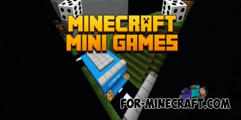 MultiGames map for Minecraft Bedrock 1.6/1.7