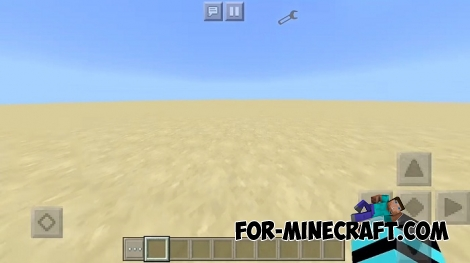 Super Flat Layers mod for Minecraft PE 1.2/1.7