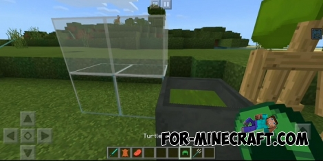 GreenVan texture pack for Minecraft BE 1.6/1.7