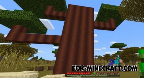 Biome Chooser addon for Minecraft PE 1.7
