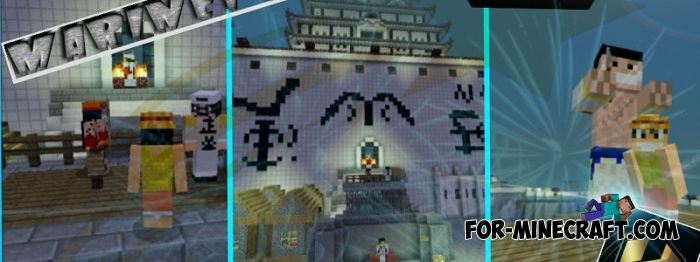 One Piece Marineford Map For Minecraft 1 8