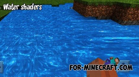 Water shader for Minecraft PE 1.7