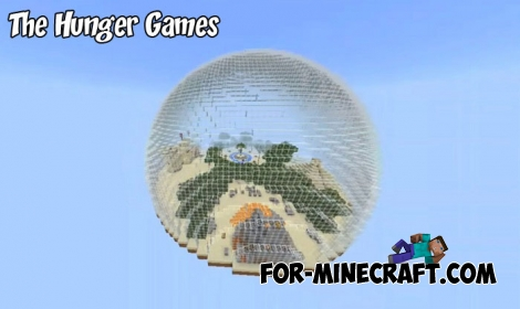 The Hunger Games map for Minecraft PE 1.6/1.7