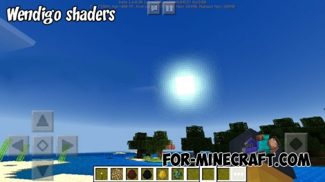Wendigo shaders for MCBE 1.7+