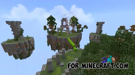 EggWars map for Minecraft Bedrock Edition 1.6/1.8