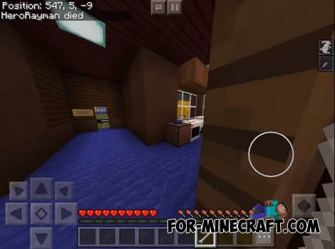 Hello Neighbor map for MCPE 1.7/1.8
