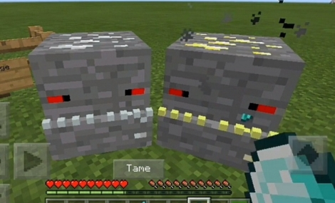 Ores Pets addon for Minecraft PE 1.8