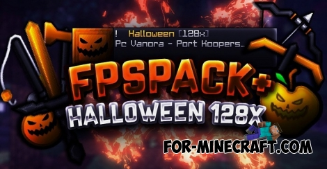 Halloween texture pack for MCBE 1.8 [128x]