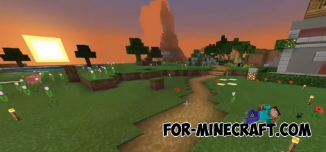 Macca Mckers Survival map for MCBE 1.7/1.8