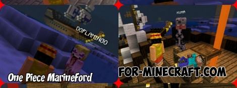 One Piece MarineFord map for Minecraft 1.8