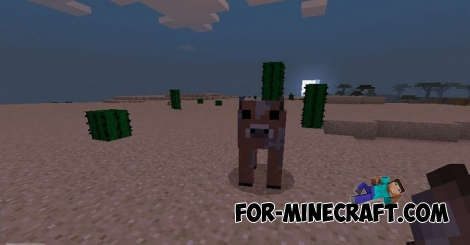 Brown Mooshrooms addon for Minecraft 1.8.0.8/1.8.0.10