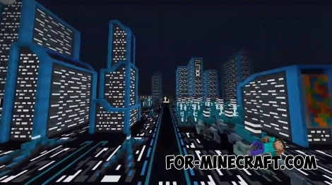 Synthport City for Minecraft BE 1.7/1.8