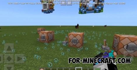 New Particles in Minecraft BE 1.8 Betas