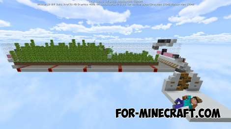 Separate Bamboo Farm for Minecraft 1.8+