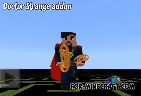 Doctor Strange addon for Minecraft 1.7/1.8