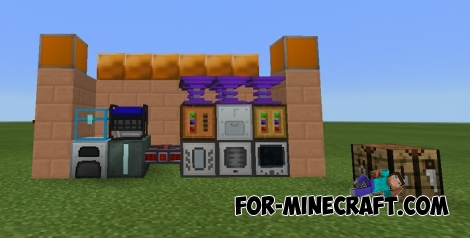Technologies Mod-pack for Minecraft PE (IC)