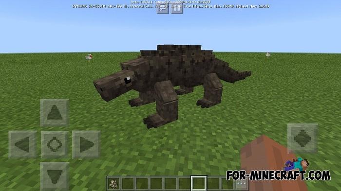 Komodo Varan addon for Minecraft BE 1 8