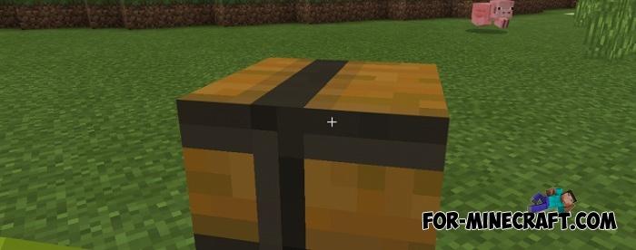 Private Chest addon for Minecraft PE 1 X