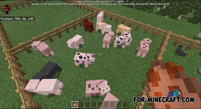 Animal Farm addon for Minecraft BE 1 8/1 9