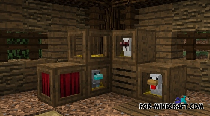 Roost Mod v1 1 for Minecraft PE