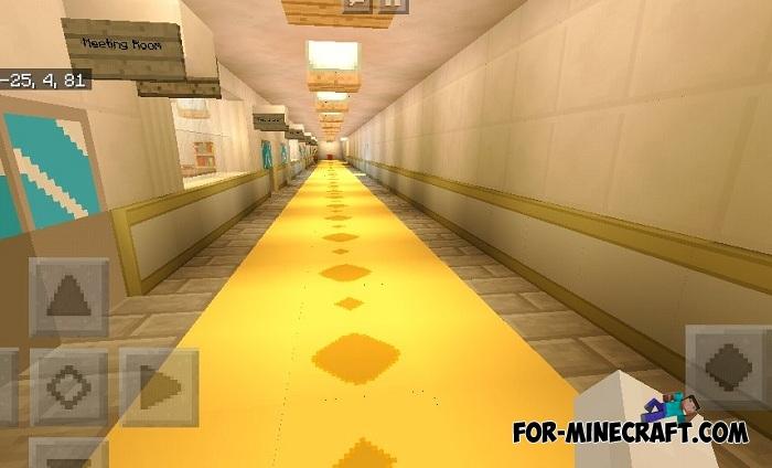 Yandere Simulator map for Minecraft PE