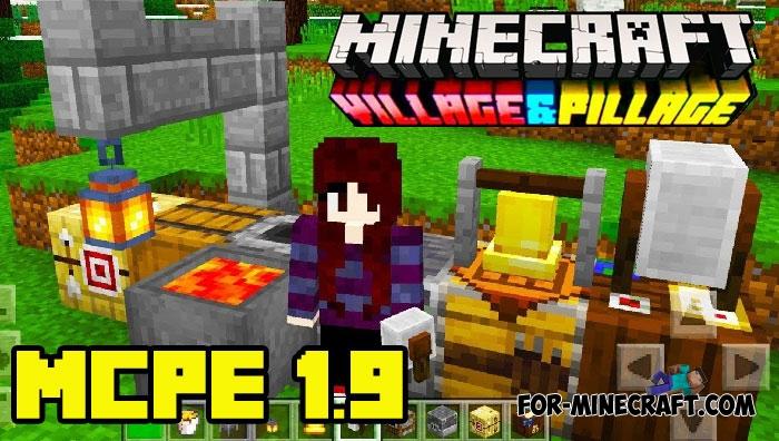 Minecraft Pocket Edition 1 9