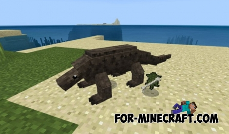 Komodo Varan addon for Minecraft BE 1.8