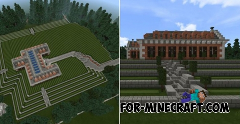 Fox Manor map for Minecraft 1.X