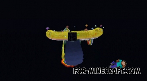 Mario Kart Rainbow Road map for Minecraft BE